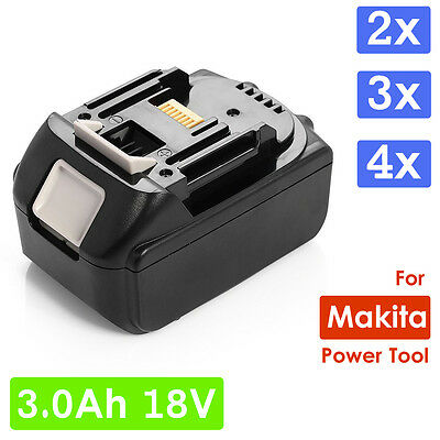 3.0Ah 18V Battery For Makita BL1830 BL1815 LXT Lithium Ion Heavy Duty Power AU