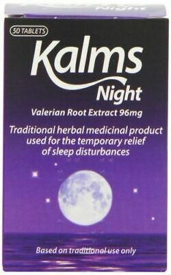 Kalms Night - Pack of 50 Tablets - 3 Pack