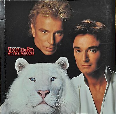 Siegfried And Roy - At The Mirage Souvenir Program