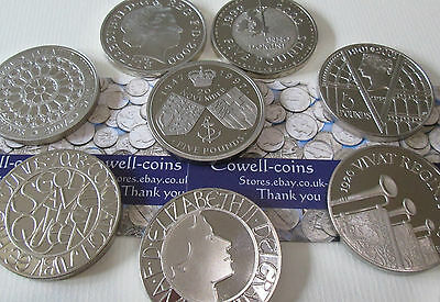 UK ROYAL MINT PROOF £5 FIVE POUND / CROWN S  1972 - 2015 presented ENCAPSULATED