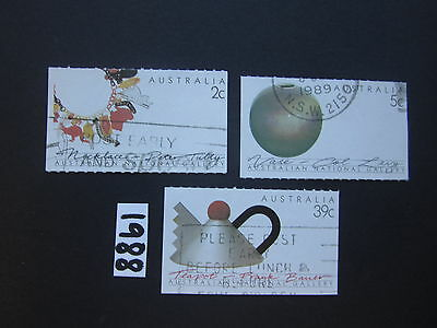 Australian Stamps:1988 Australian Crafts - booklet Stamps USed
