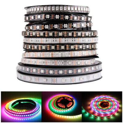 WS2812B 5050 RGB LED Strip 150 300 Leds 144 60 30LED/M Individual Addressable 5V