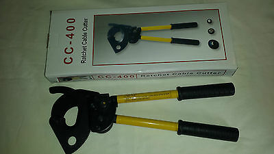 400mm Ratchet Cable Cutters Copper/aluminium cores new and boxed