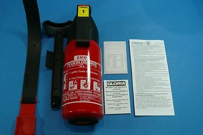 Original BMW Car Fire extinguisher with mount 2.2lbs NEW SEALED
