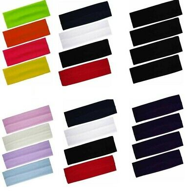 Stretchy Kylie Band Hairband~Headband Ladies-Mens Sports Assorted Colors