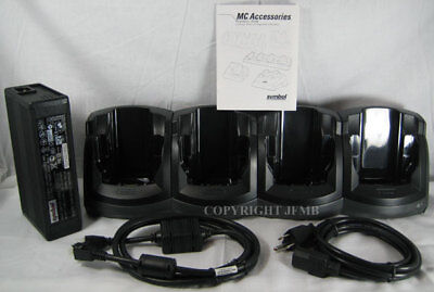 Zebra Motorola 4 SLOT Cradle Charger MC3190 MC3090 CHS3000-400CR CRD3000-4000
