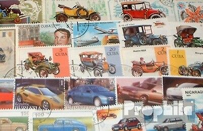 Motives 50 different Car and motor vehicles Stamps