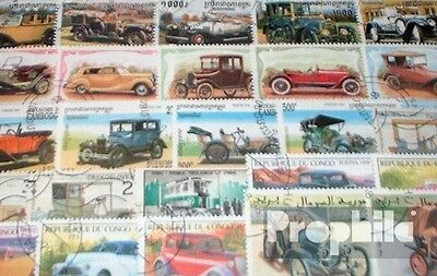 Motives 50 different Oldtimer Cars stamps