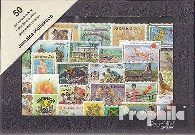 jamaica 50 different stamps