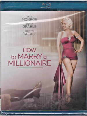 HOW TO MARRY A MILLIONAIRE (Blu-ray Disc, 2012) NEW