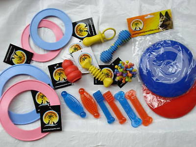 ASSORTED MIX!!!!   100x   QUALITY CHEAP RUBBER + PVC Dog toys MIX RRP £300