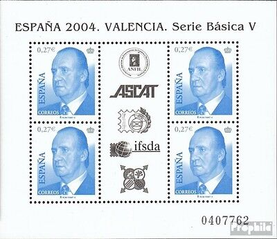 Spain block140 mint never hinged mnh 2004 Stamp Exhibition