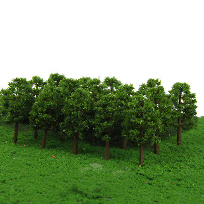 20pcs Tree N SCALE Model Train Railway Layout Garden Street Scenery 8cm