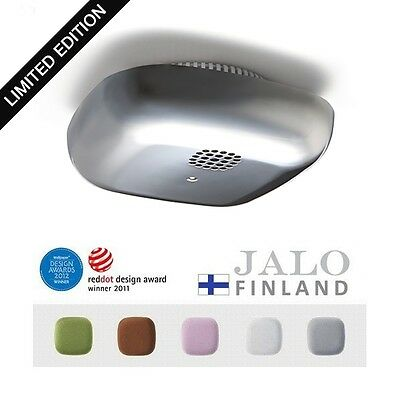 Jalo Helsinki Smoke Detector Alarm KUPU Chrome Limited Edition