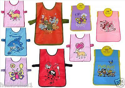 "Boy/girl/children's ""bugzz Kids "" Wipeable Pvc Tabard / Apron  Various Design's"