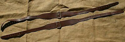 British P14 1914 Pattern Leather Braces Shoulder Straps