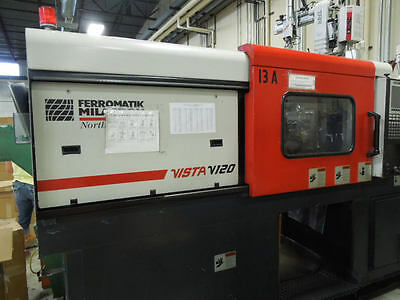 2000 Cincinnati Vista V-120 Plastic Injection Molding Machine
