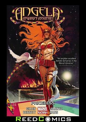 ANGELA ASGARDS ASSASSIN VOLUME 1 PRICELESS GRAPHIC NOVEL Paperback Collects #1-6