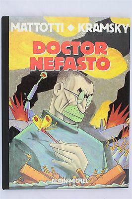 Doctor Nefasto Lorenzo Mattotti Kramsky 1989 1st Albin Michel Graphic Novel Book