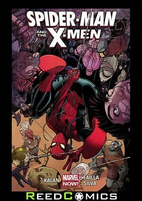 SPIDER-MAN AND THE X-MEN GRAPHIC NOVEL New Paperback Collects 6 Part Series