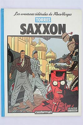 Saxxon Daniel Torres Roco Vargas 1987 1st HB French Fantasy Graphic Novel Book