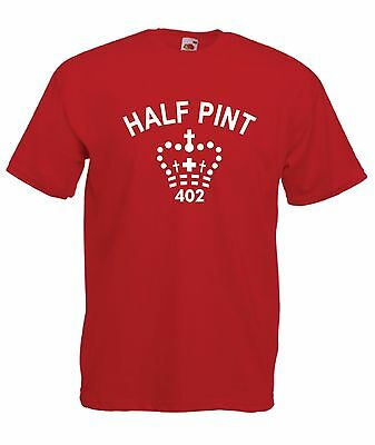 HALF PINT funny brother sister xmas birthday party gift kids boys girls T SHIRT