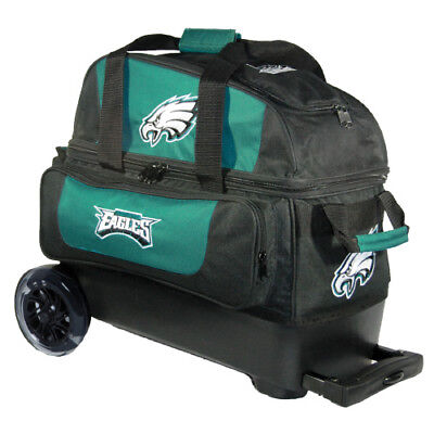 KR Strikeforce NFL Philadelphia Eagles 2 Ball Roller Bowling Bag