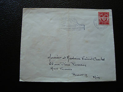 FRANCE - enveloppe 1962 franchise militaire (cy67) french