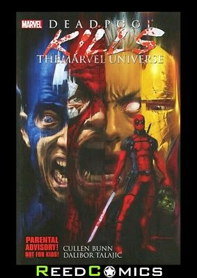 DEADPOOL KILLS THE MARVEL UNIVERSE GRAPHIC NOVEL Paperback Collects Issues #1-4
