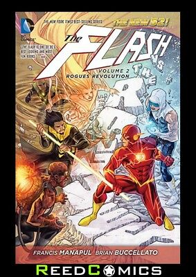 FLASH VOLUME 2 ROGUES REVOLUTION HARDCOVER Hardback Collects (2011) #9-12, #0