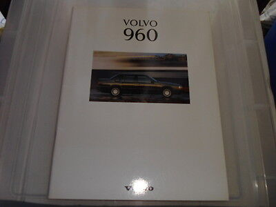 Volvo 960 And 960 Executive Sales Brochure 1993
