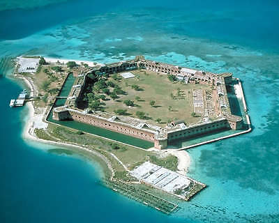 Fort Jefferson At The Dry Tortugas 8X10 Photo Florida