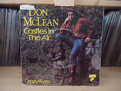 """7"""" Single Don McLean - Castles In The Air"""