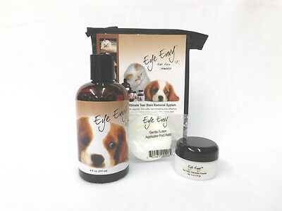 Eye Envy Value Pack - Liquid, Powder And Pads - Dog 12