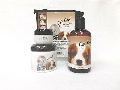 Eye Envy Value Pack - Liquid, Powder And Pads - Dog 14