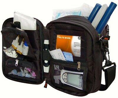 Elite Multi-Compartment Insulin Cool Bag / Wallet and Diabetic Kit Case