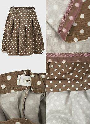 Girls Baby Polka Dot Skirt Age 12 18 24 Months 2 3 4 5 6 7 8 Years Free P&p (A1)