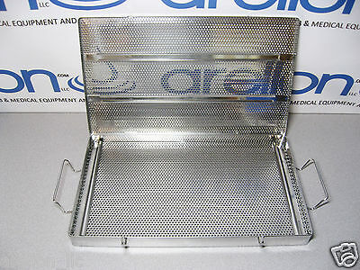 MEDIN 15x9 SS MESH TRAY MICRO SURGERY INSTRUMENT/TOOL STERILIZATION/STORAGE CASE