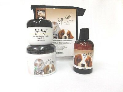 Eye Envy Value Pack - Liquid, Powder And Pads - Dog 5