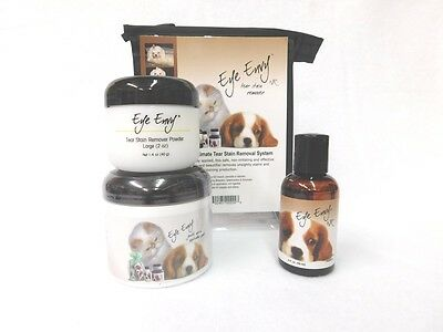 Eye Envy Value Pack - Liquid, Powder And Pads - Dog 1