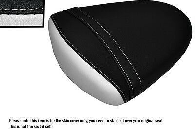 Design 2 White & Black Custom Fits Suzuki Gsxr 1000 07-08 K7 K8 Rear Seat Cover