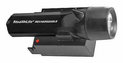 Pelican StealthLite Rechargeable 2450 Flashlight, Black
