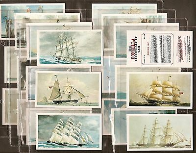 Players Doncella-Full Set- Golden Age Of Sail - Ships Shipping - Exc+++