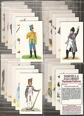 Players Doncella-Full Set- Napoleonic Uniforms - Exc+++