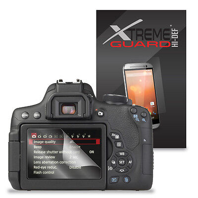 6-Pack HD XtremeGuard HI-DEF Screen Protector For Canon EOS 750D, EOS Rebel T6i