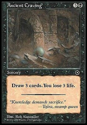 Desiderio Atavico - Ancient Craving MTG MAGIC PO2 Portal Second Age Eng/Ita