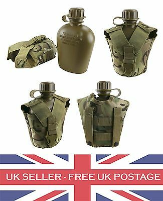 BTP MTP Multicam Tactical Army Molle Water Bottle Camping Fishing Cooking Cadet