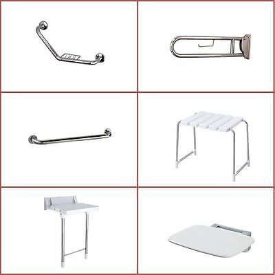 Bathroom Safety Aids, Shower Seats, Bathroom Grab Rails & Toilet Support Arms