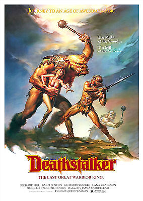 Deathstalker (1983) - A1/A2 Poster **BUY ANY 2 AND GET 1 FREE OFFER**