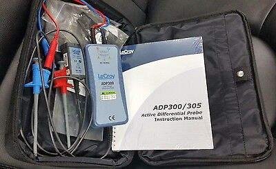 LeCroy ADP300 1400V 20 MHz High Voltage Differential Probe Kit